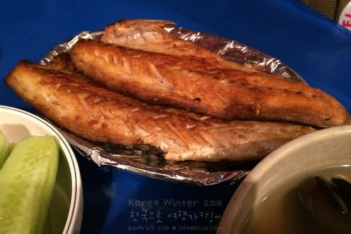 Fish Menu | Jongno 3 ga Pojangmacha