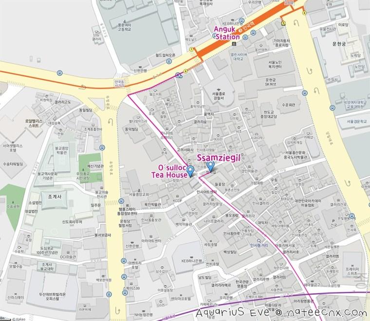 인사동 | Insa-dong Map