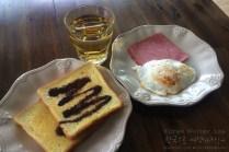 Breakfast at First Guesthouse, Haeundae, Busan