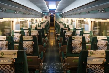 Korea KTX Train