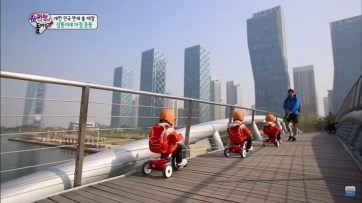 Song Triplets at Songdo Central Park