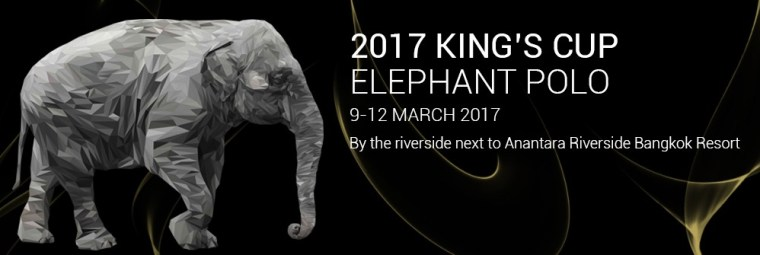 Mekhong support the King's Cup Elephant Polo 2017