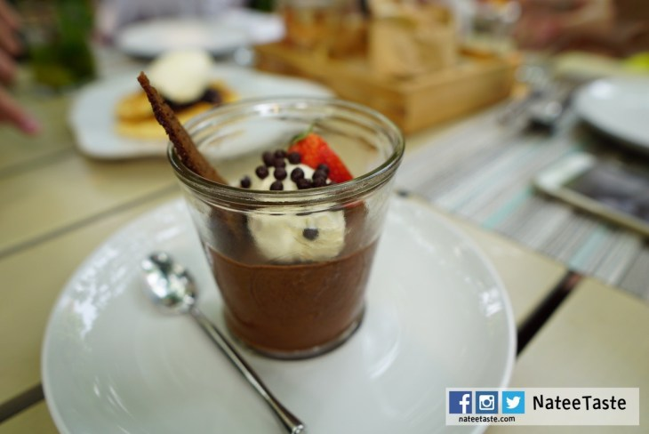 Chocolate Mousse: Spiced bread, Mascarpone