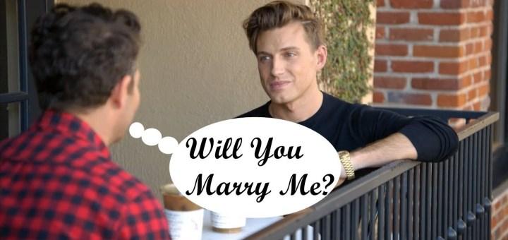 nate and jeremiah wedding proposal