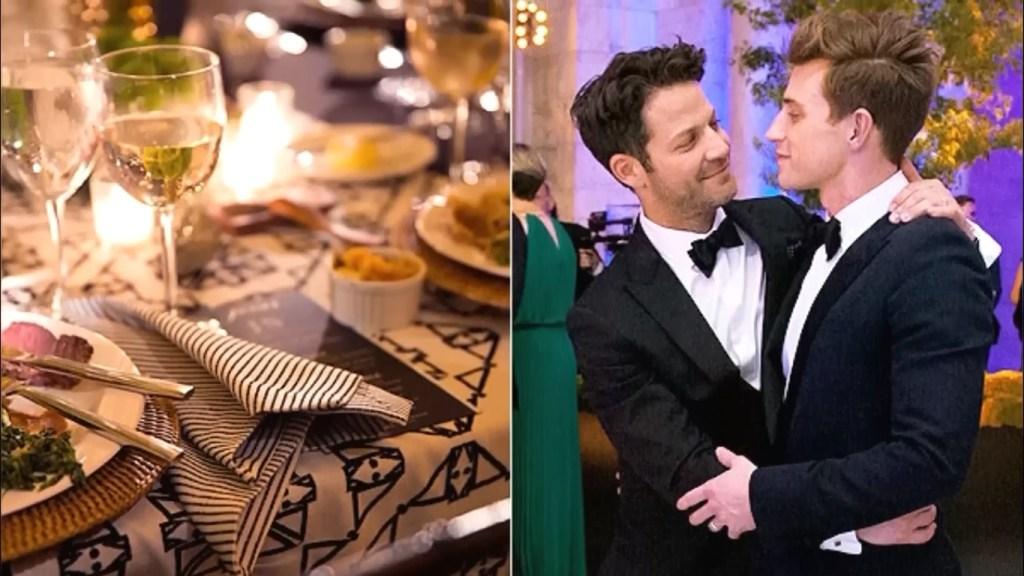 Nate Berkus wedding with Jeremiah Brent