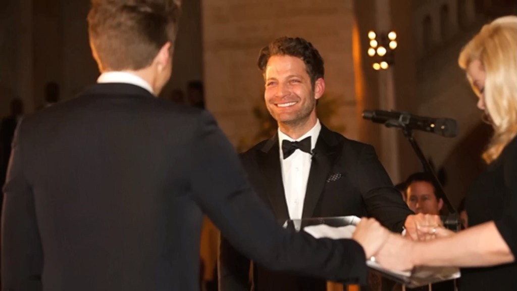 Nate and Jeremiah Wedding vows Picture