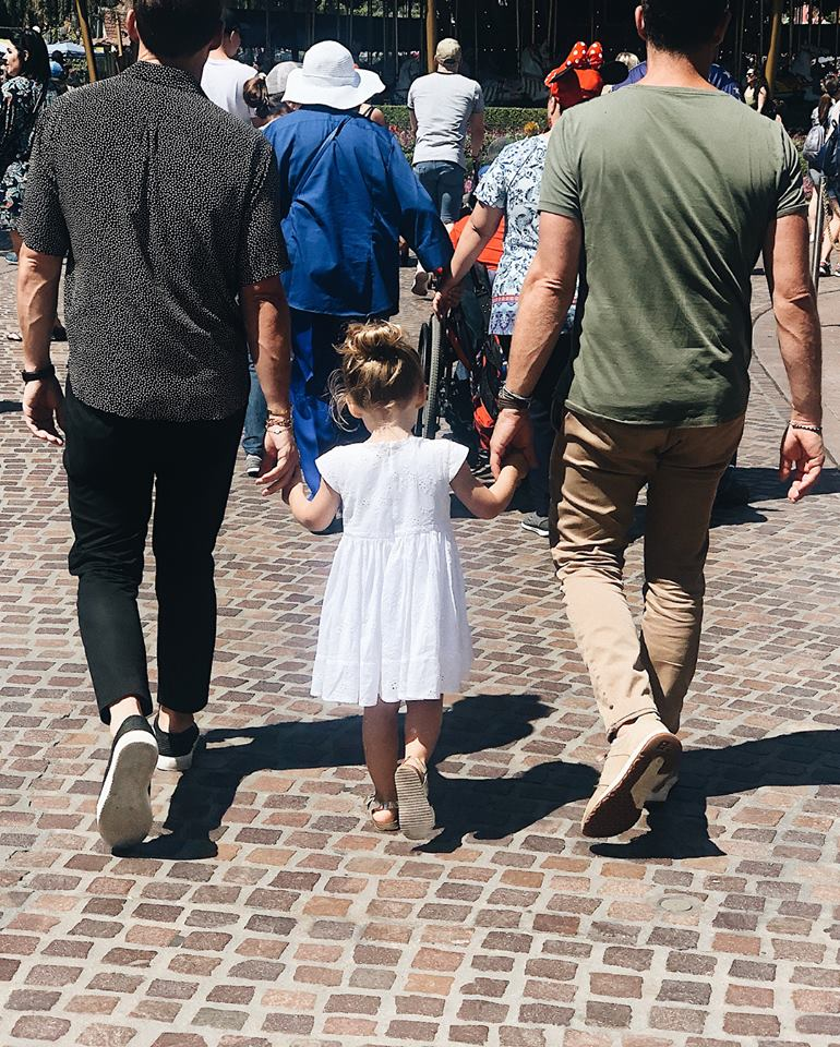 Nate Berkus Instagram at Disneyland