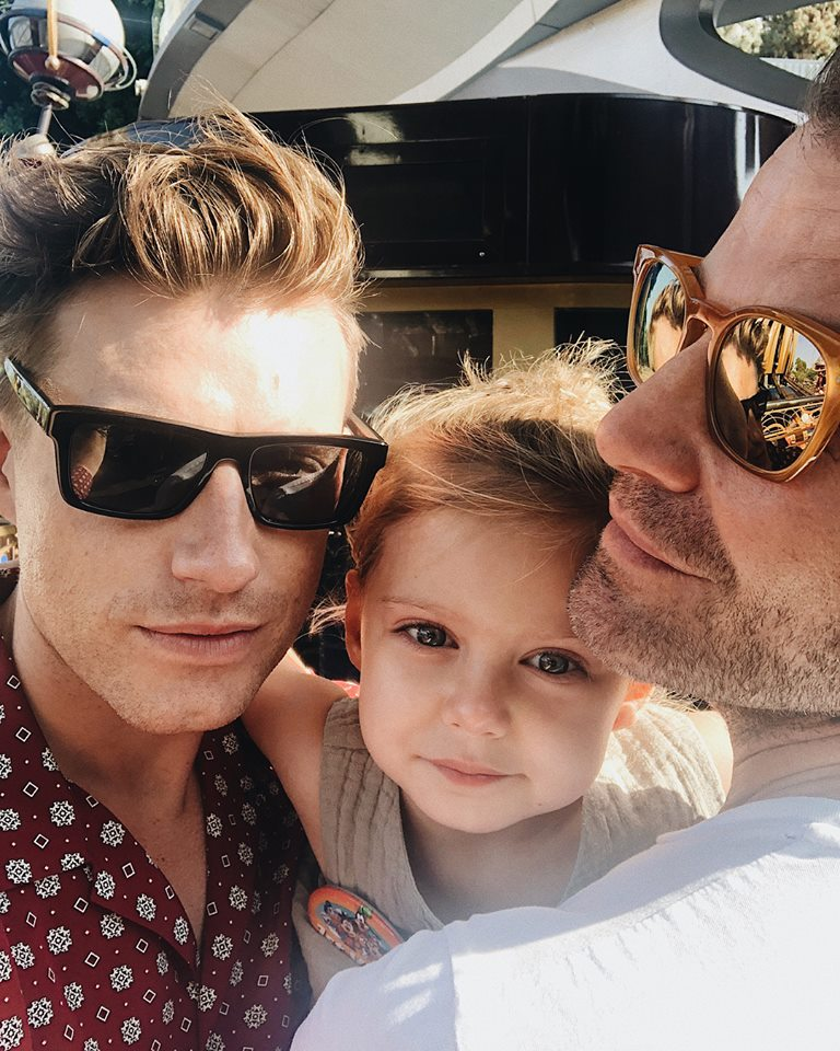 Nate Berkus Instagram with Poppy