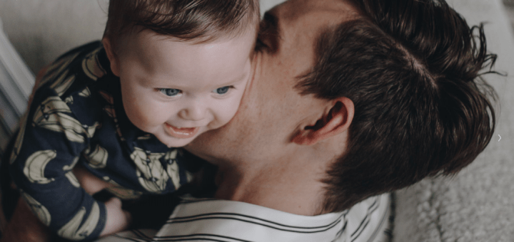 Oskar Brent Berkus with Daddy