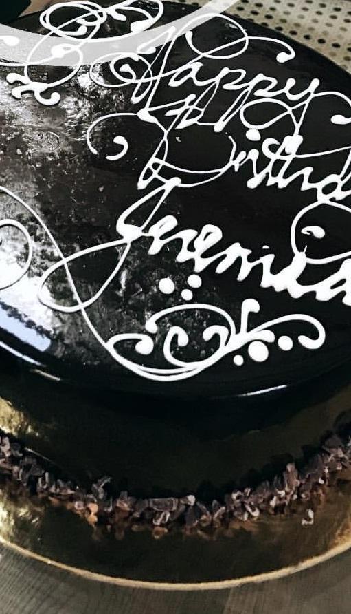 Jeremiah Brent Birthday Cake