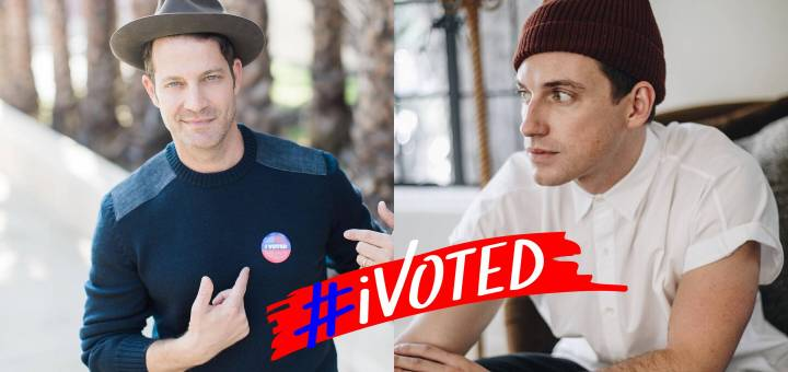 Elections 2018 Nate Berkus and Jeremiah Brent
