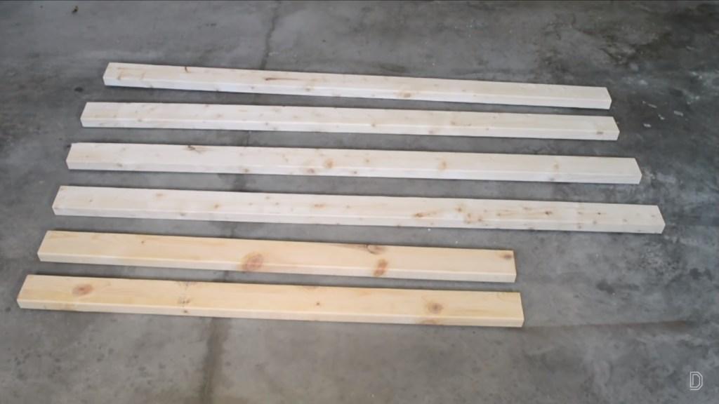 ladder shelf wood