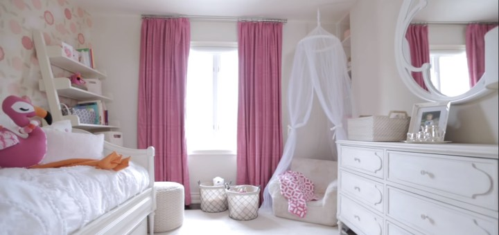 Girl Bedroom Decor Into Dream Nursery For Sisters Nursery Decor