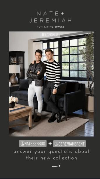 nate jeremiah design living spaces