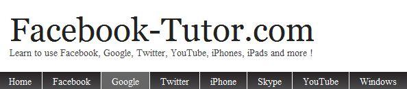 Facebook-tutor.com Logo