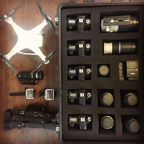 wedding video gear - greenville sc