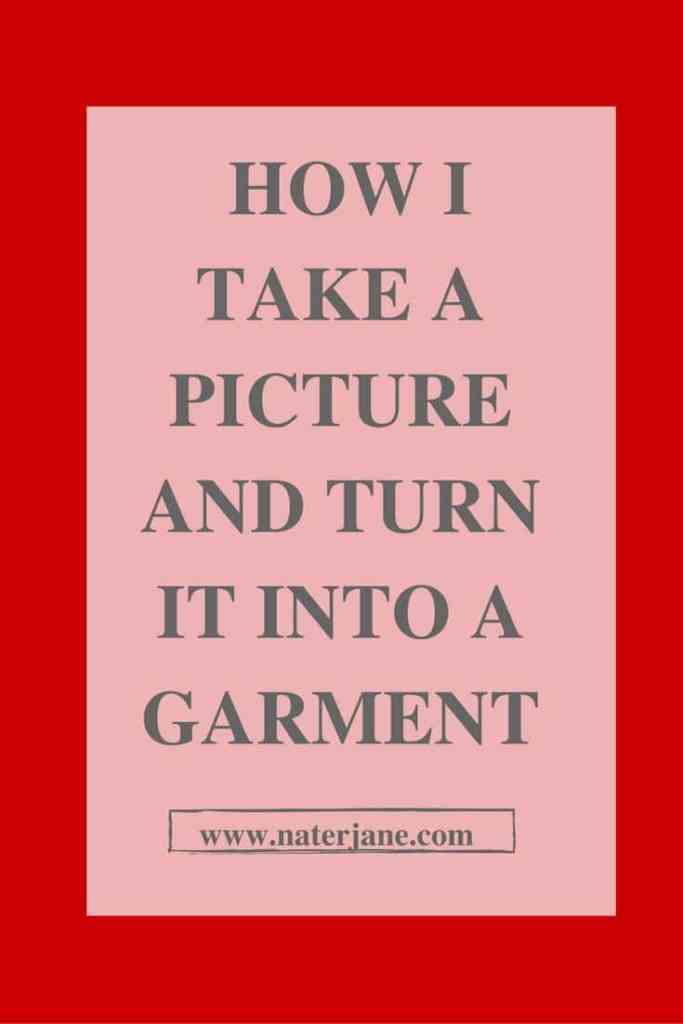 Fell in love with a picture instead of a sewing pattern. No worries in this post I take you though using pattern hacking to get your dream garment. So are you ready to turn your picture into a sewing pattern.