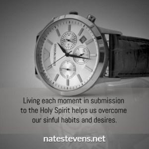 watch, living each moment, impatient, natestevens.net