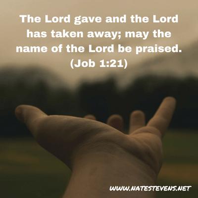 God – Giver, Taker, or Both?