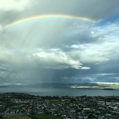 Rainbow over Rotorua – A Tribute to Billy Graham