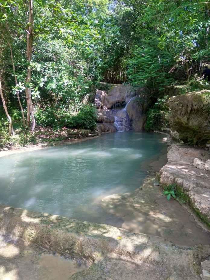 kolam bawah Air Terjun Lepo, Bantul