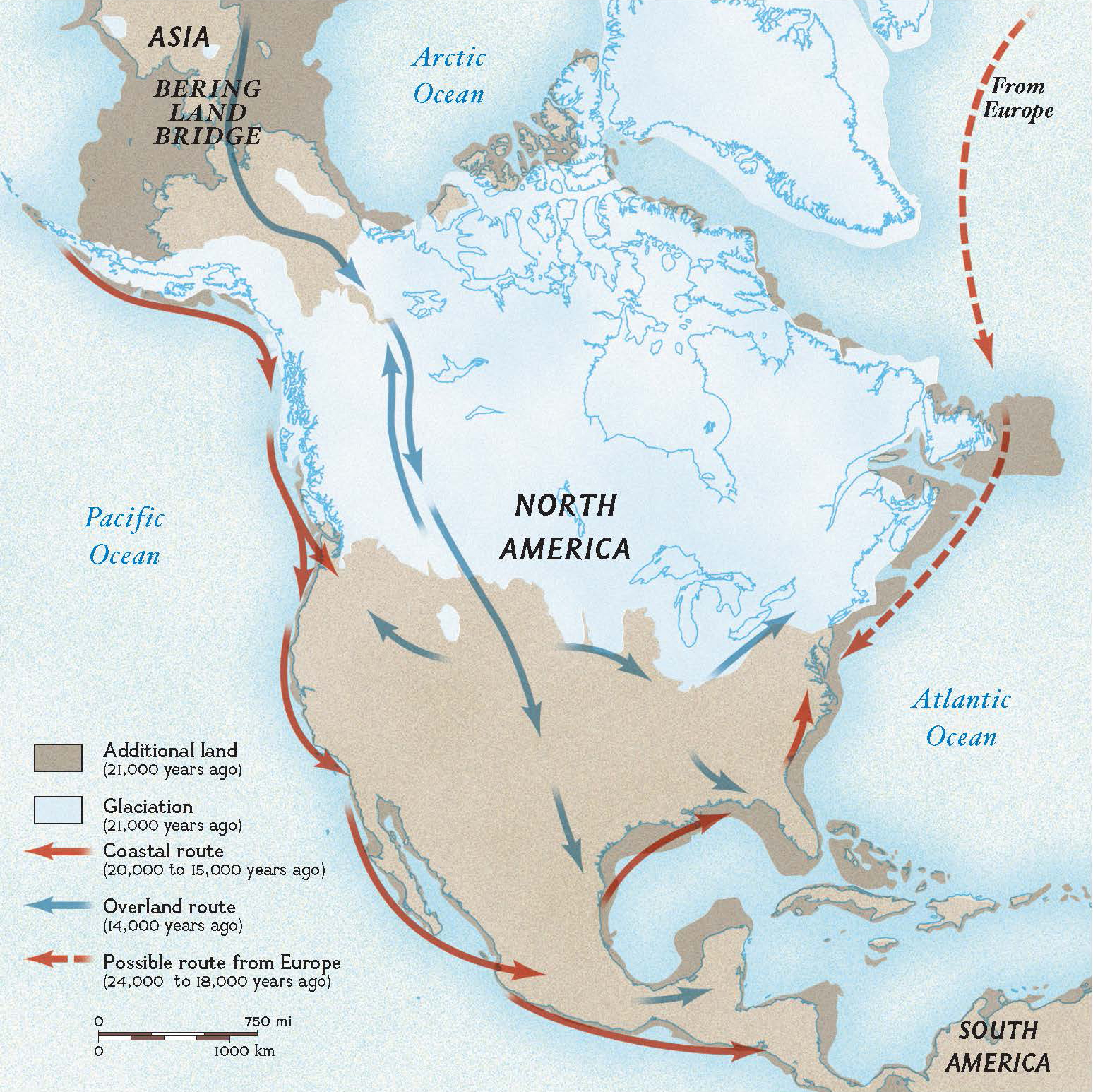 Did The First Americans Take A Ride On The Kelp Highway National Geographic Education Blog
