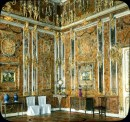 """The Russian """"Amber Room"""" was decorated in amber panels backed with gold leaf and mirrors. It was looted during World War II. Photograph by Branson DeCou, courtesy University of California at Santa Cruz"""