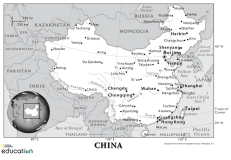 Customize and download your own map of China with our 1-Page MapMaker tool.