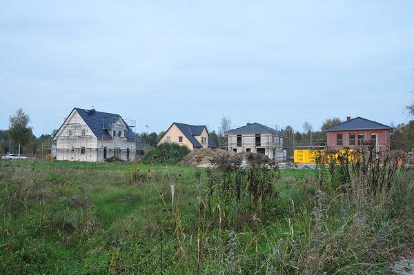 Häuser im Musikerviertel Mahlow