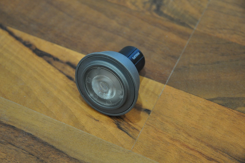 Photo eines Philips MASTER LEDspotMV Leuchtmittels