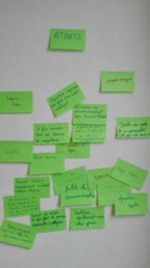 Brainstorming : atouts des réseaux sociaux pour des étudiants de master 2 en agronomie
