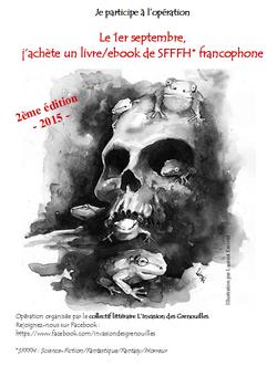Le 1er septembre, achetez un livre de SFFFH* francophone !