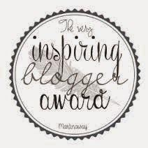 The very inspiring blogger's award
