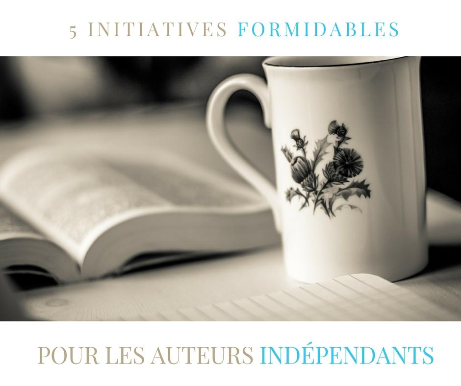 initiatives pour auteurs indépendants