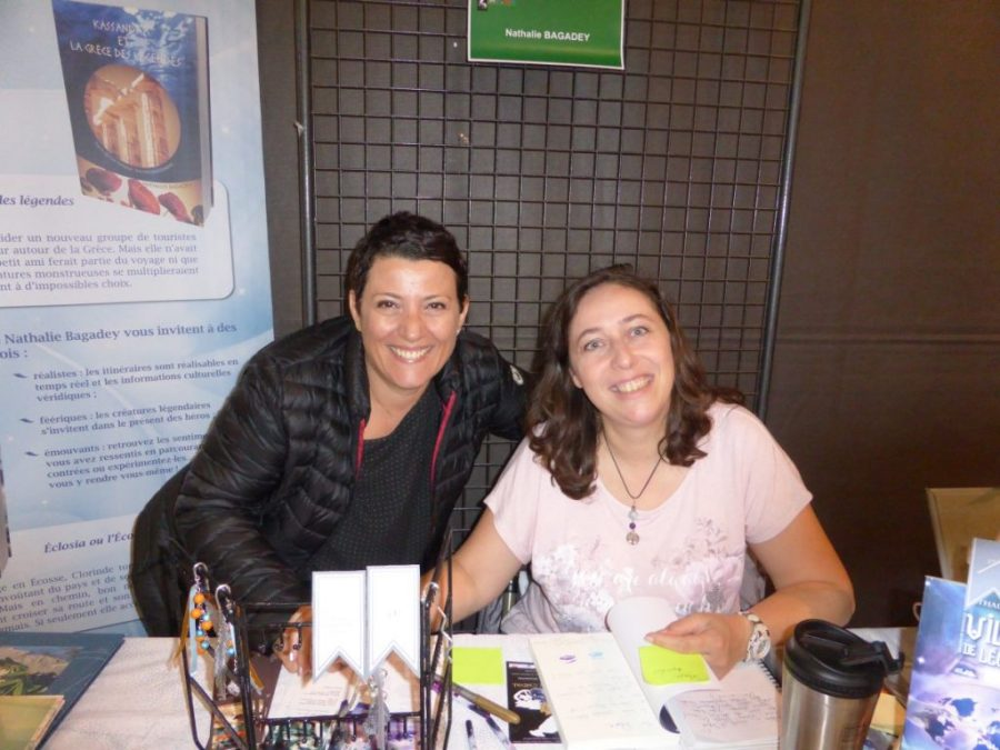 5ème Salon des Auteurs de Chatuzanges le Goubet - Valérie - 1