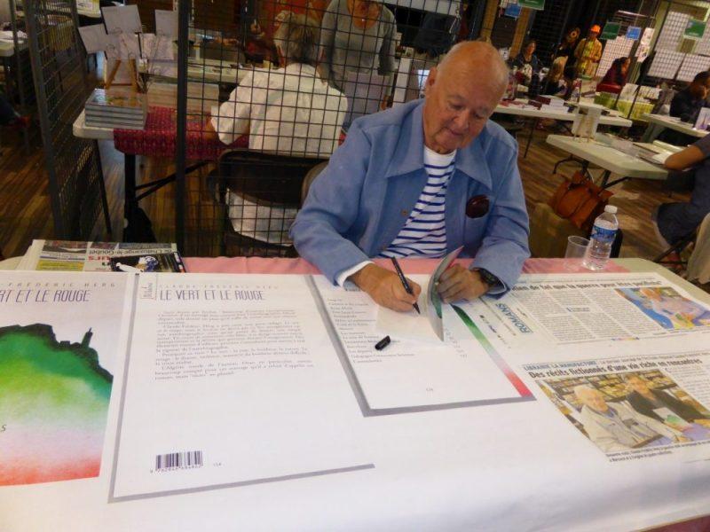 5ème Salon des Auteurs de Chatuzanges le Goubet - Claude Frederic Herg
