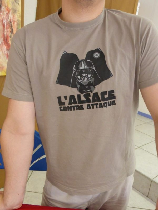 stand attractif - T-shirt humoristique