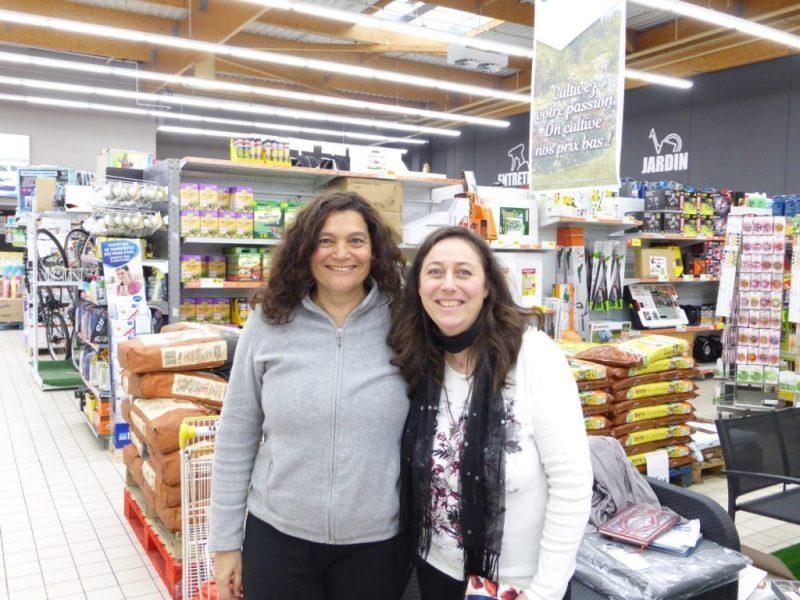 Dédicaces en supermarché