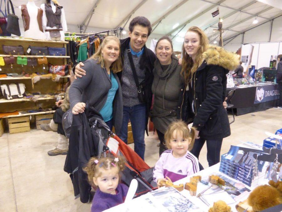 Salon Fantastique Paris 1 - avec Thibault et sa famille