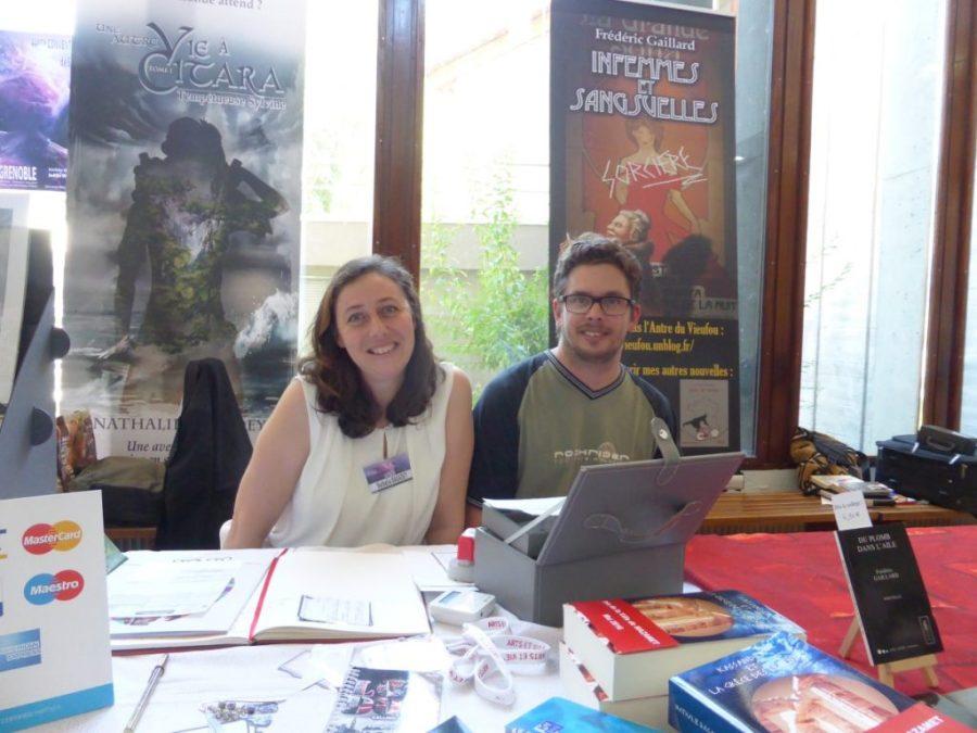Convention Nationale SF 2017 - dédicaces - Olivier