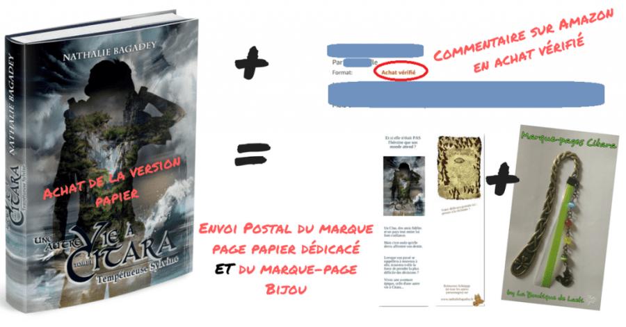lancement Citara - cadeau commentaire papier