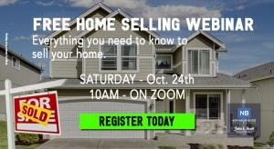 event banner home seller FREE WEBINAR NATHALIE BOSS REAL ESTATE SEATTLE