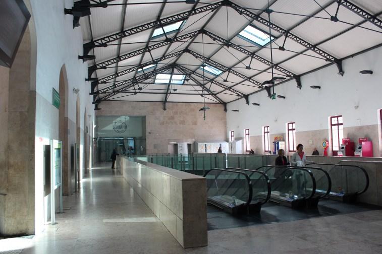 La gare moderne de Lisbonne