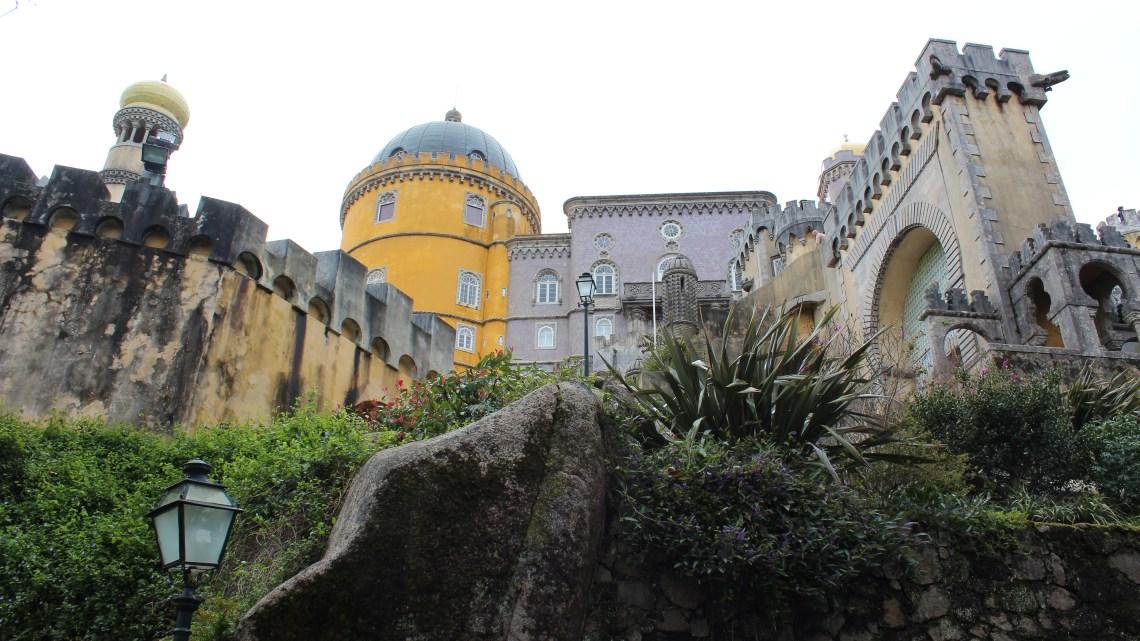 Les 2 châteaux de Sintra…9 mars 2013