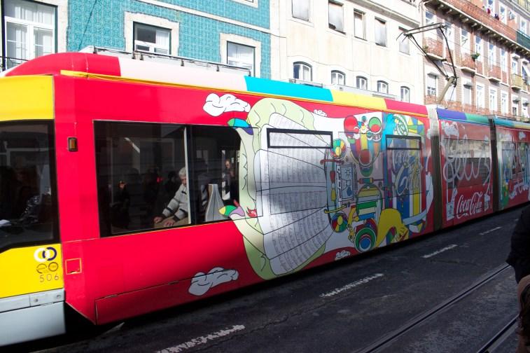 Tram sponsorisé