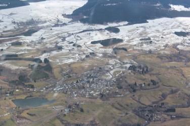 La Tour d'Auvergne et son lac