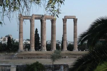 Quelques colonnes autour de l'Acropole
