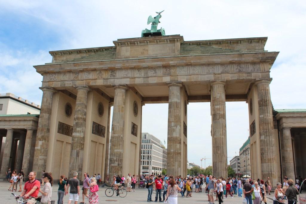 La porte de Brandebourg