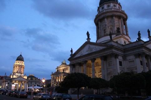 la nuit tombe sur Berlin