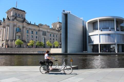 Le Reichstag et la chancellerie
